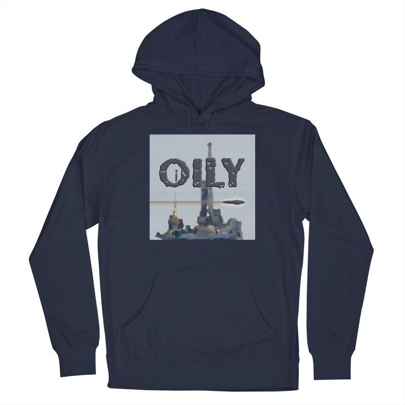 Oily Men's Pullover Hoody by Spaceboy Books LLC's Artist Shop