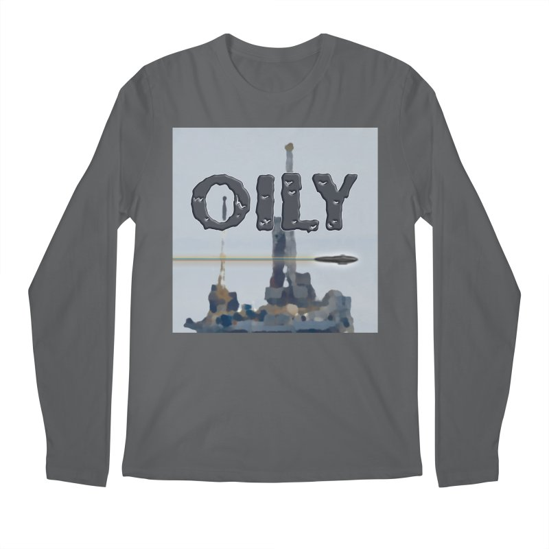 Oily Men's Longsleeve T-Shirt by Spaceboy Books LLC's Artist Shop