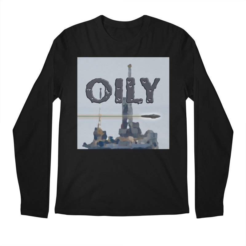 Oily Men's Regular Longsleeve T-Shirt by Spaceboy Books LLC's Artist Shop