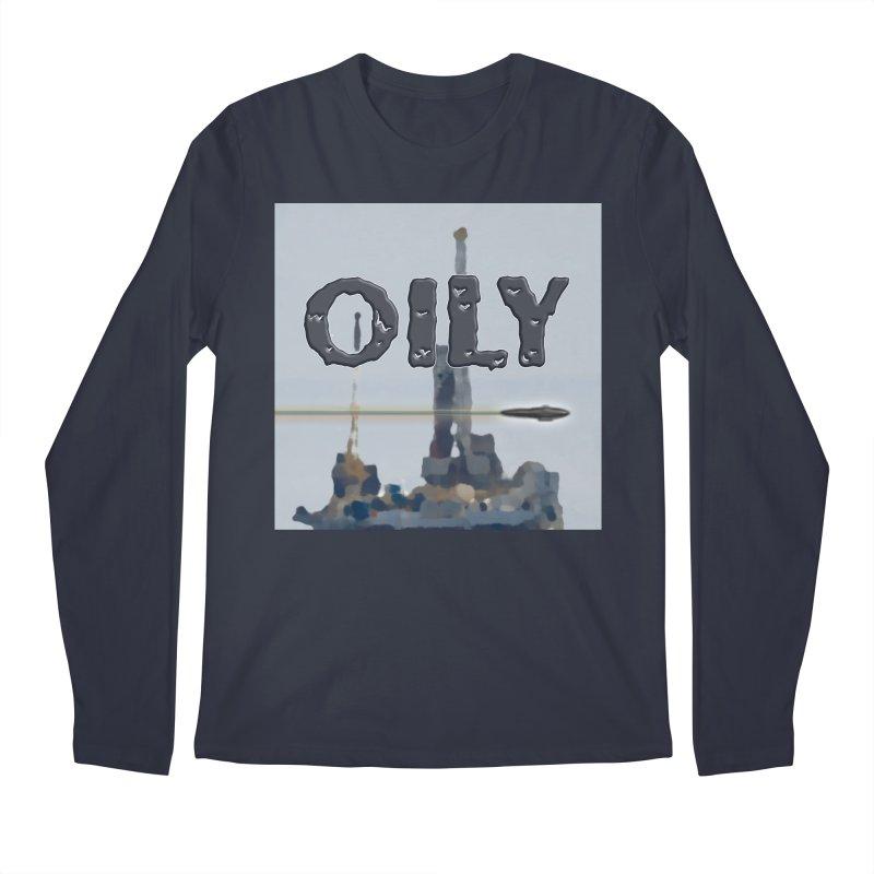 Oily Men's Regular Longsleeve T-Shirt by Spaceboy Books LLC's Artist Shop