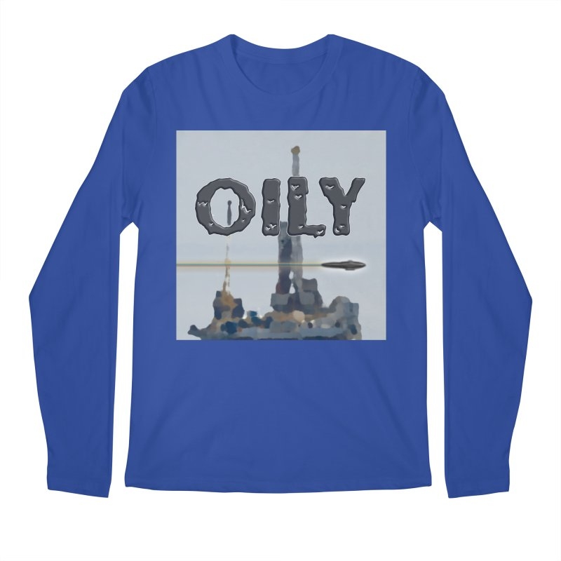 Oily Men's Longsleeve T-Shirt by Spaceboy Books LLC's Artist Shop