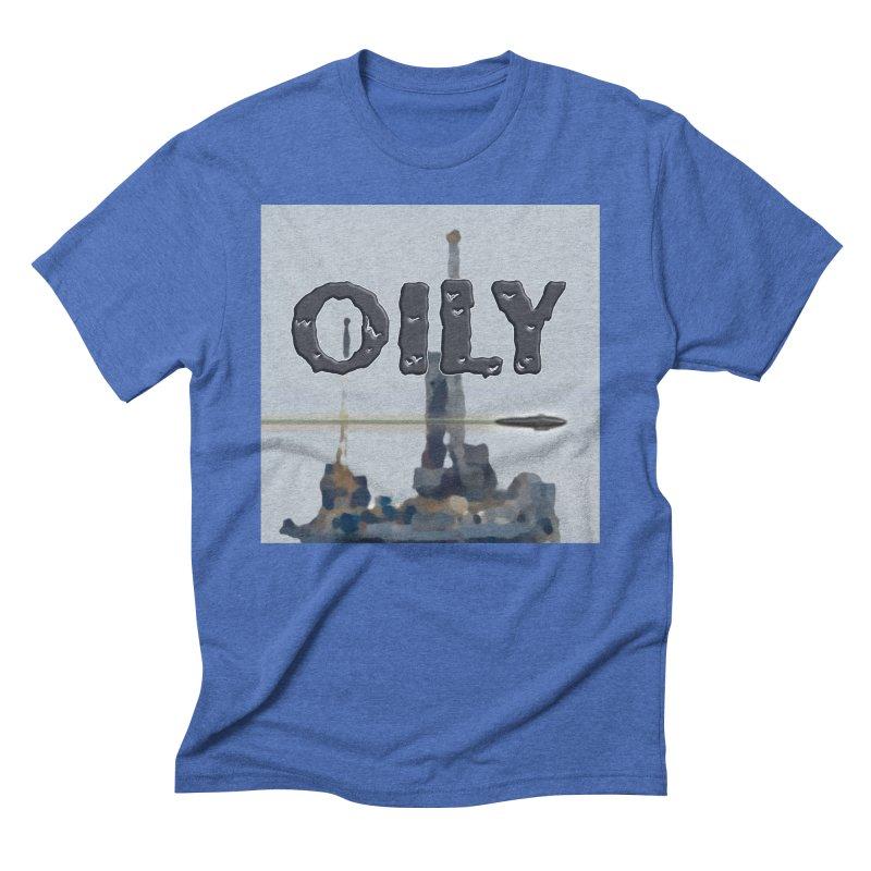 Oily Men's Triblend T-Shirt by Spaceboy Books LLC's Artist Shop