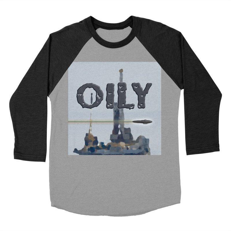 Oily Men's Baseball Triblend Longsleeve T-Shirt by Spaceboy Books LLC's Artist Shop