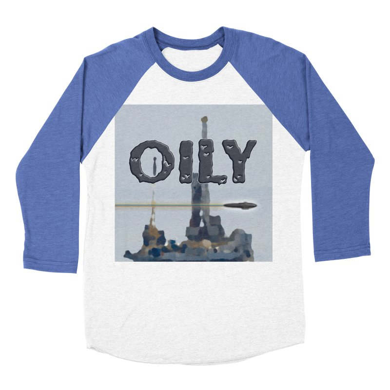 Oily Men's Baseball Triblend Longsleeve T-Shirt by Spaceboy Books LLC's Artist Shop