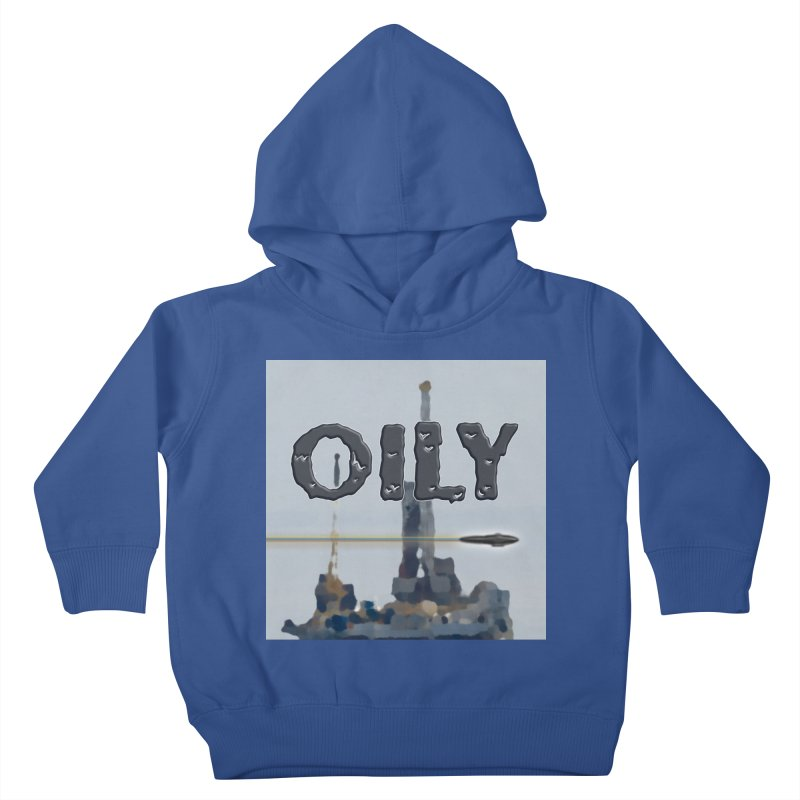 Oily Kids Toddler Pullover Hoody by Spaceboy Books LLC's Artist Shop