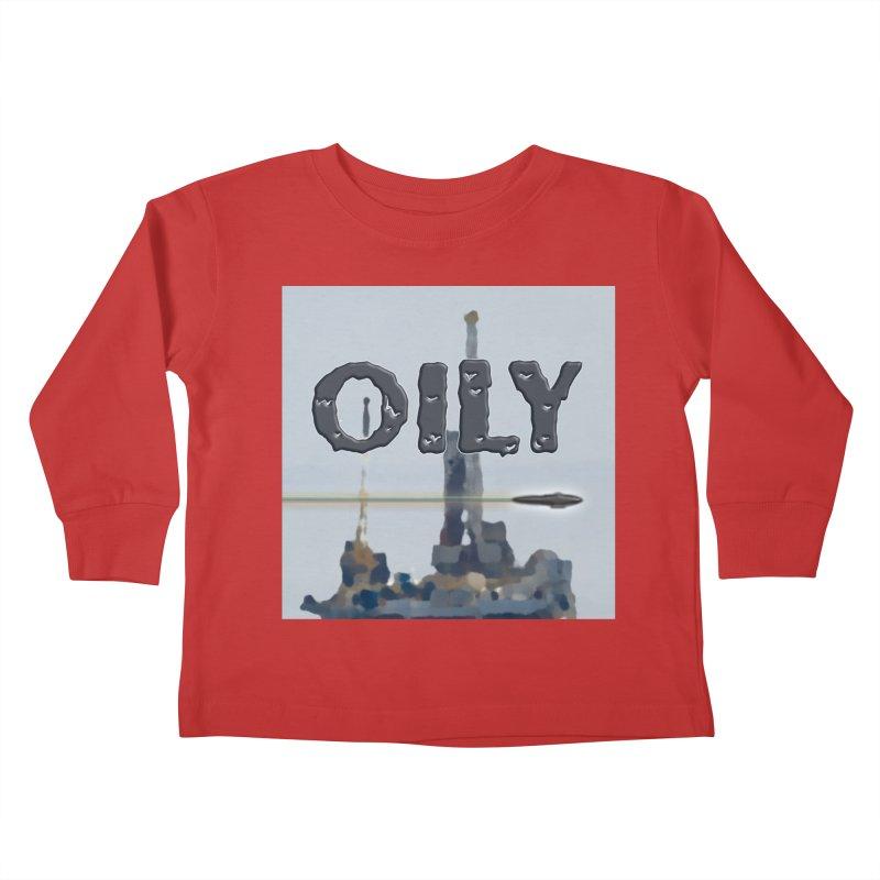 Oily Kids Toddler Longsleeve T-Shirt by Spaceboy Books LLC's Artist Shop