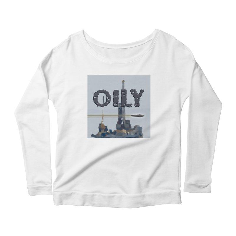 Oily Women's Scoop Neck Longsleeve T-Shirt by Spaceboy Books LLC's Artist Shop