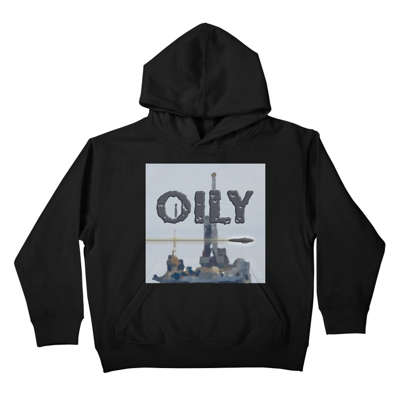 Oily Kids Pullover Hoody by Spaceboy Books LLC's Artist Shop