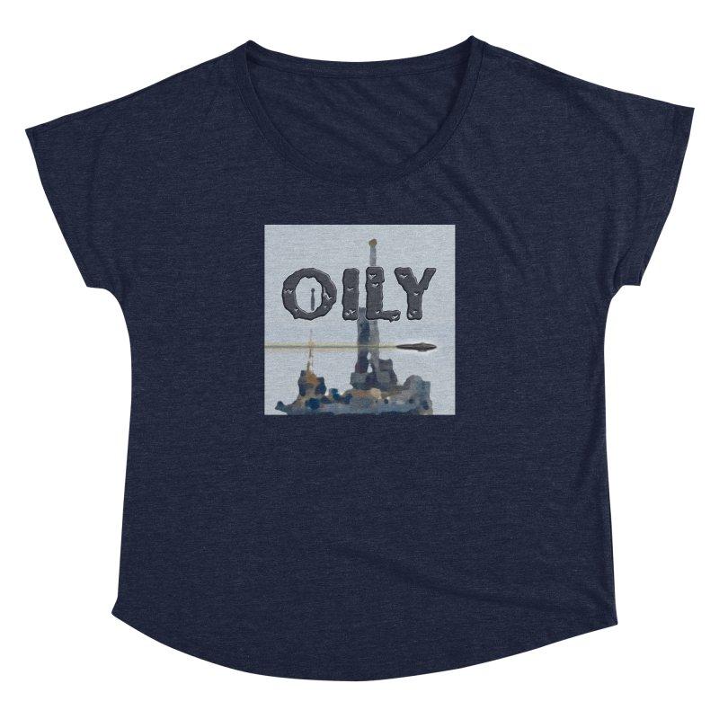 Oily Women's Dolman Scoop Neck by Spaceboy Books LLC's Artist Shop