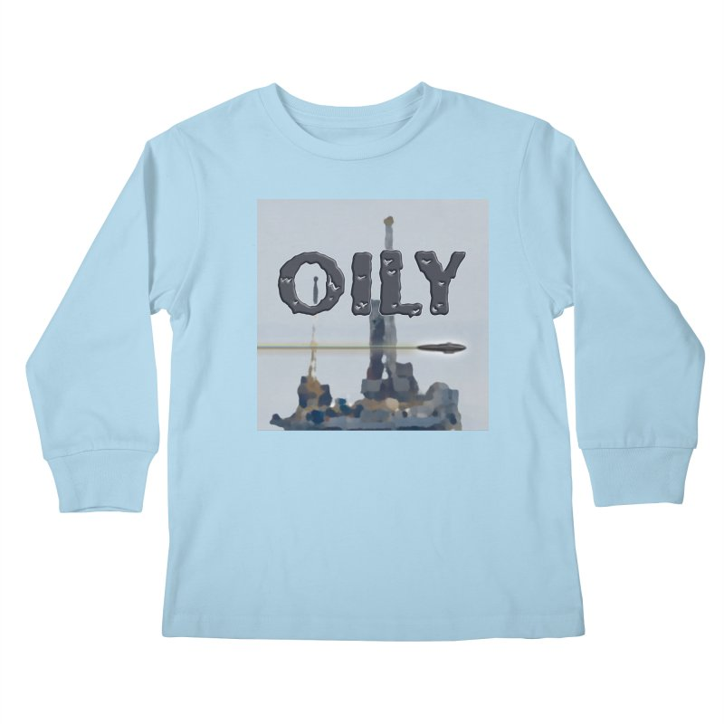 Oily Kids Longsleeve T-Shirt by Spaceboy Books LLC's Artist Shop