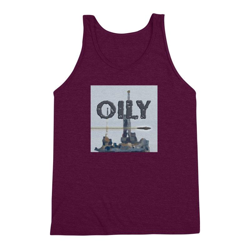 Oily Men's Triblend Tank by Spaceboy Books LLC's Artist Shop
