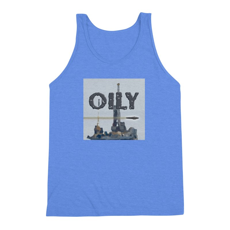 Oily Men's Triblend Tank by Spaceboy Books LLC's Artist Shop