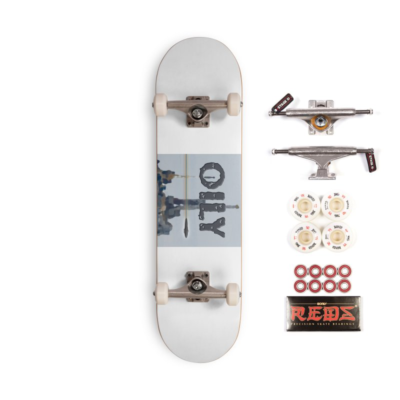 Oily Accessories Complete - Pro Skateboard by Spaceboy Books LLC's Artist Shop