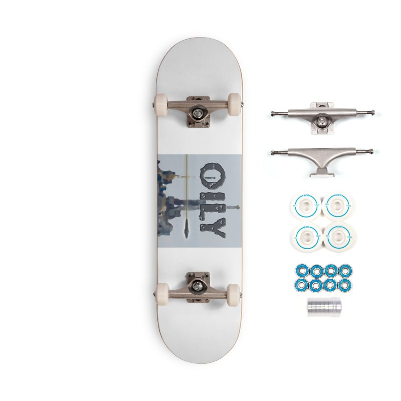 Oily Accessories Complete - Basic Skateboard by Spaceboy Books LLC's Artist Shop