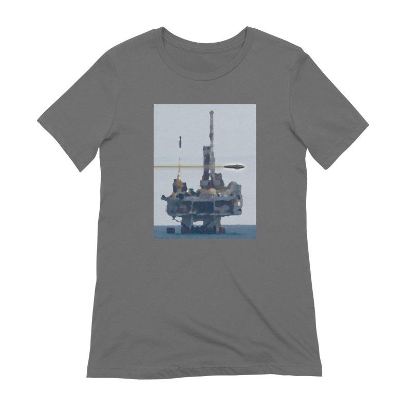 Oily - Art Only Women's T-Shirt by Spaceboy Books LLC's Artist Shop