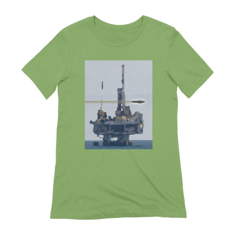 Oily - Art Only Women's Extra Soft T-Shirt by Spaceboy Books LLC's Artist Shop
