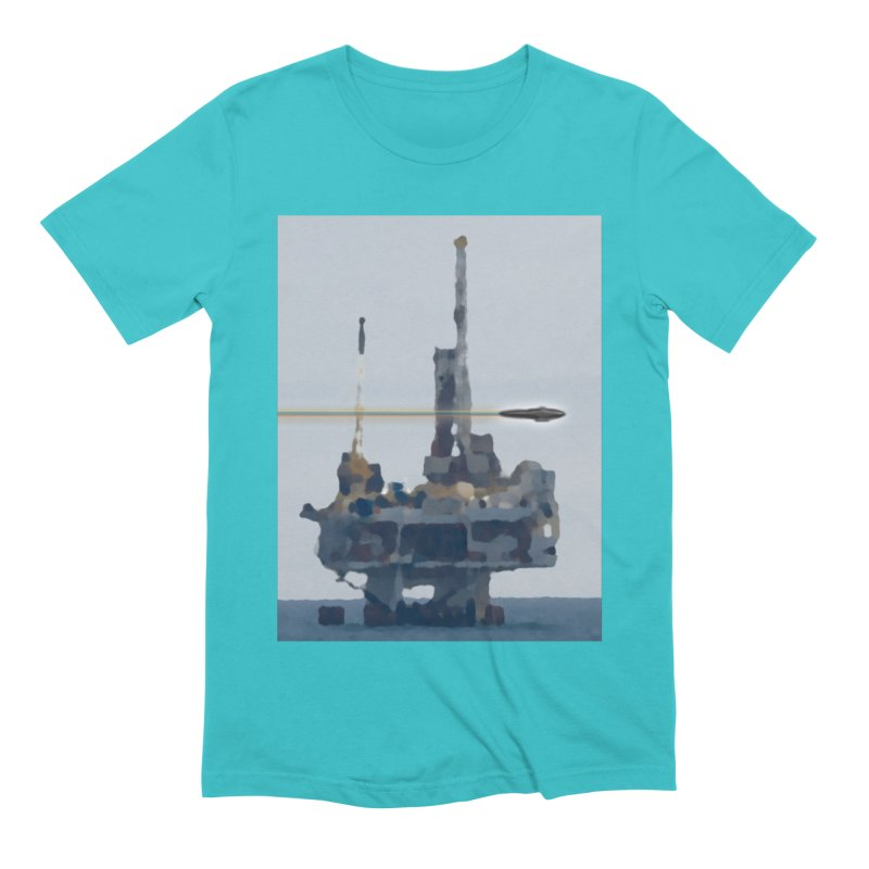 Oily - Art Only Men's Extra Soft T-Shirt by Spaceboy Books LLC's Artist Shop