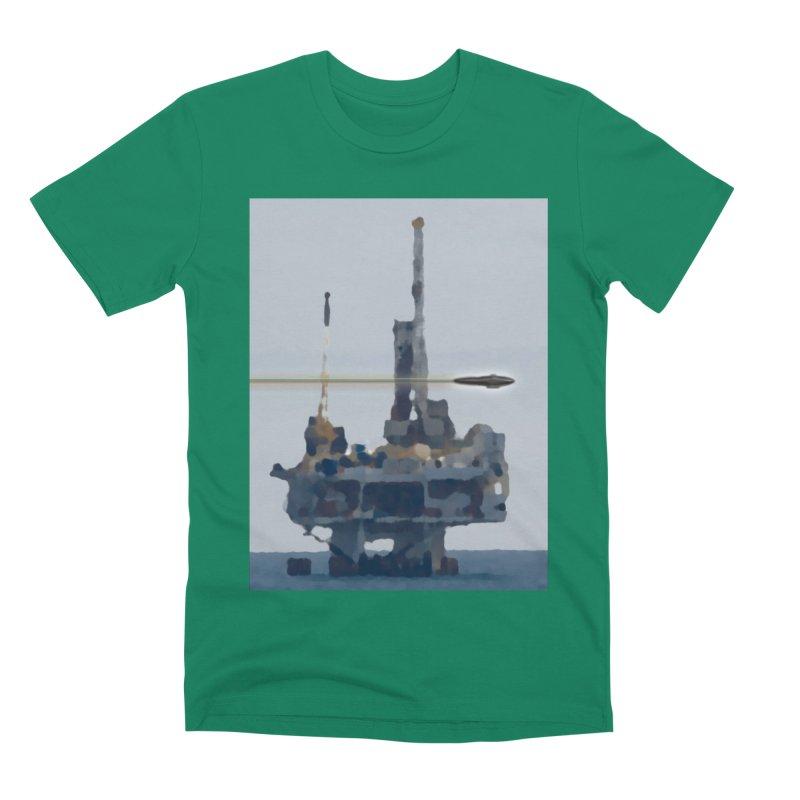 Oily - Art Only Men's Premium T-Shirt by Spaceboy Books LLC's Artist Shop