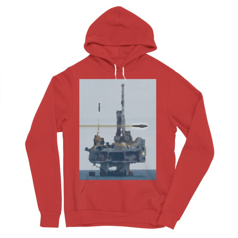 Oily - Art Only Men's Sponge Fleece Pullover Hoody by Spaceboy Books LLC's Artist Shop