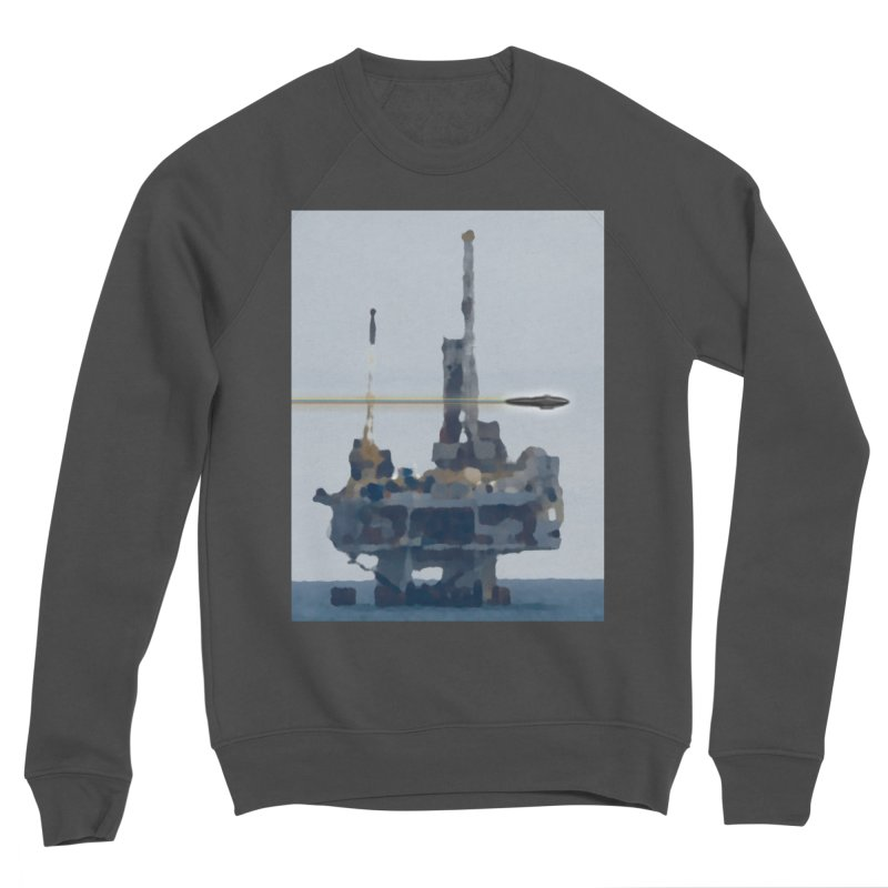 Oily - Art Only Men's Sponge Fleece Sweatshirt by Spaceboy Books LLC's Artist Shop