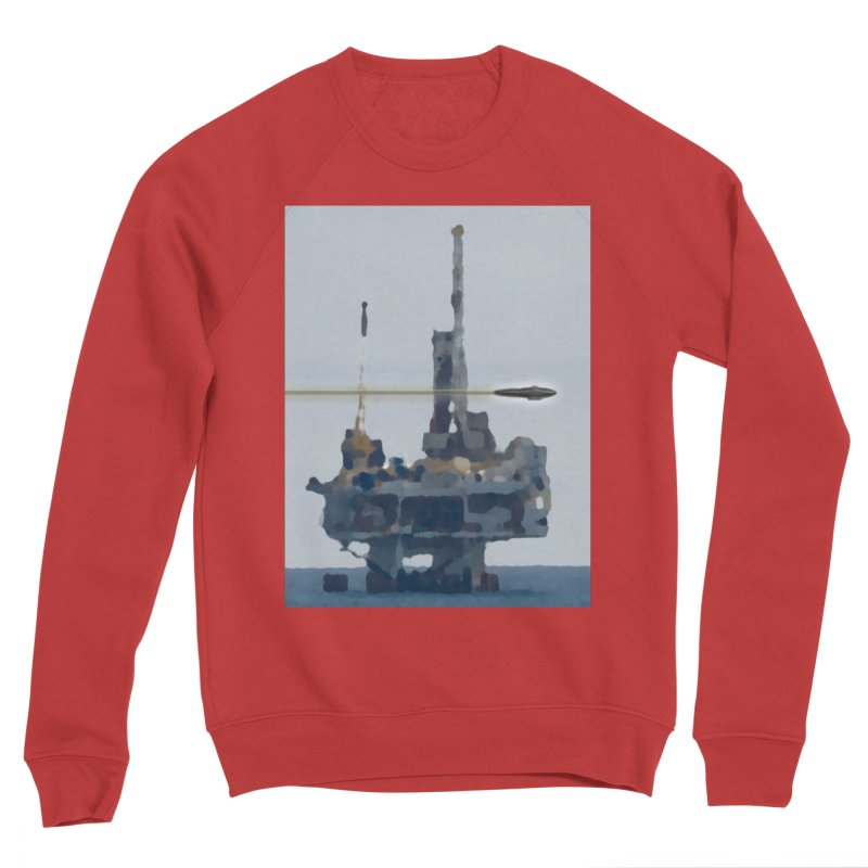 Oily - Art Only Women's Sponge Fleece Sweatshirt by Spaceboy Books LLC's Artist Shop