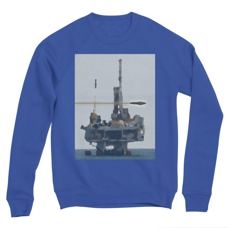 Oily - Art Only Men's Sponge Fleece Sweatshirt by Spaceboy Books LLC's Artist Shop