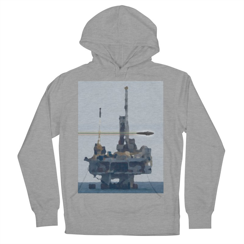 Oily - Art Only Men's French Terry Pullover Hoody by Spaceboy Books LLC's Artist Shop