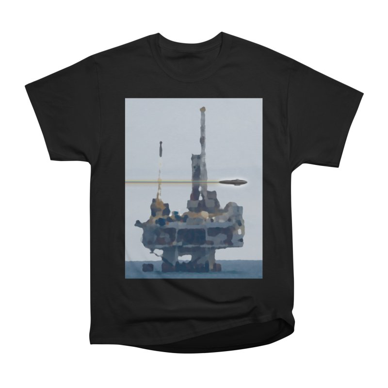 Oily - Art Only Men's Heavyweight T-Shirt by Spaceboy Books LLC's Artist Shop