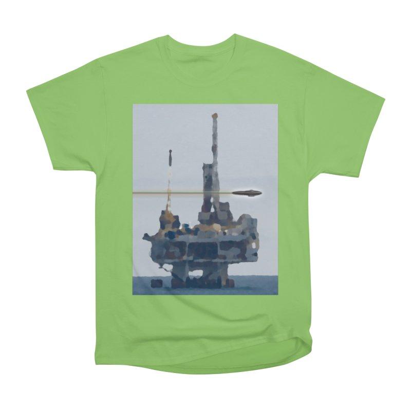 Oily - Art Only Women's Heavyweight Unisex T-Shirt by Spaceboy Books LLC's Artist Shop