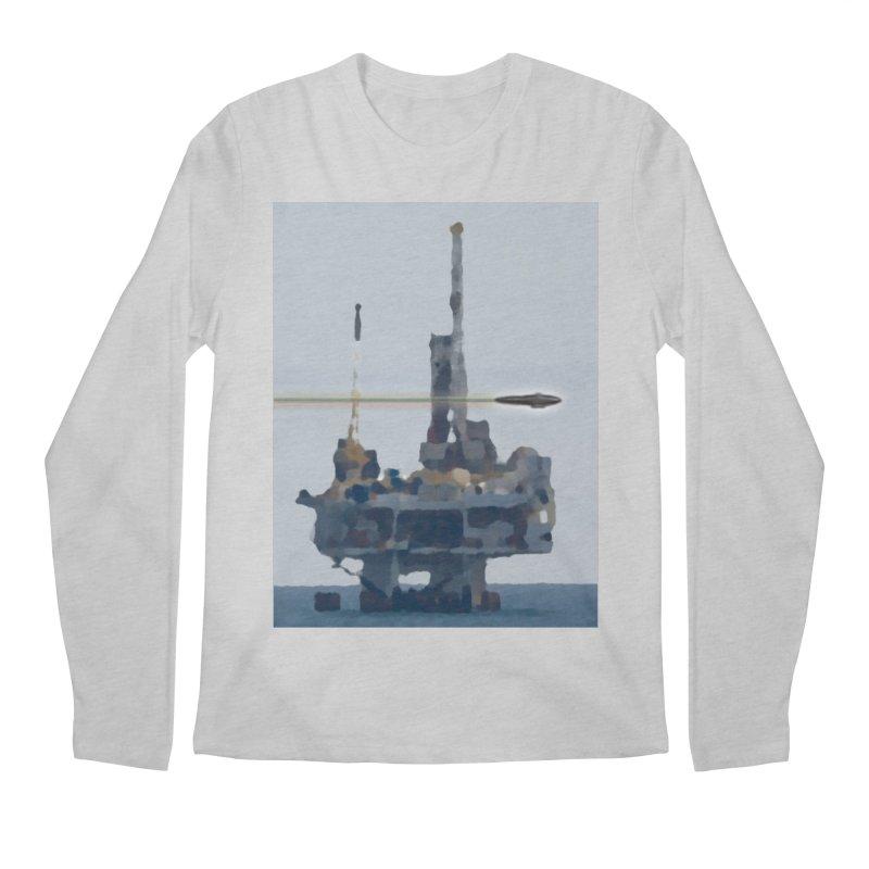 Oily - Art Only Men's Regular Longsleeve T-Shirt by Spaceboy Books LLC's Artist Shop
