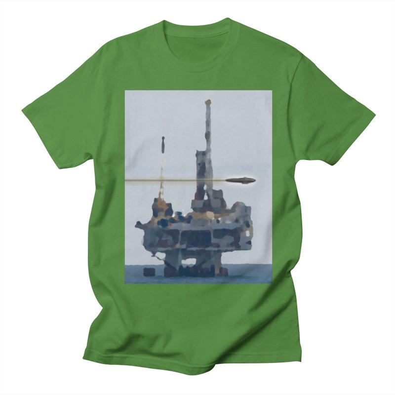 Oily - Art Only Women's Regular Unisex T-Shirt by Spaceboy Books LLC's Artist Shop
