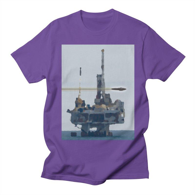 Oily - Art Only Men's Regular T-Shirt by Spaceboy Books LLC's Artist Shop