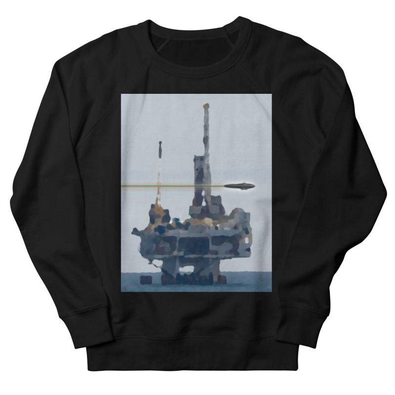 Oily - Art Only Men's French Terry Sweatshirt by Spaceboy Books LLC's Artist Shop