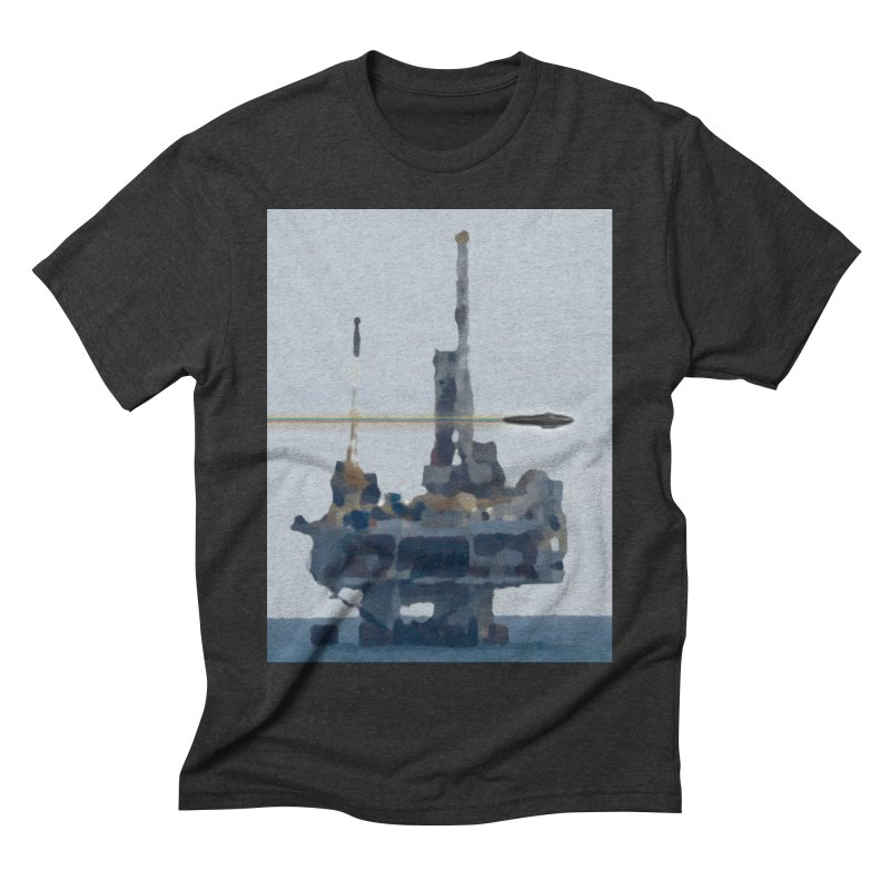 Oily - Art Only Men's Triblend T-Shirt by Spaceboy Books LLC's Artist Shop