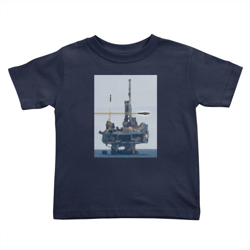 Oily - Art Only Kids Toddler T-Shirt by Spaceboy Books LLC's Artist Shop