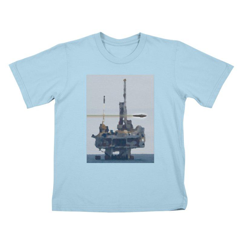 Oily - Art Only Kids T-Shirt by Spaceboy Books LLC's Artist Shop