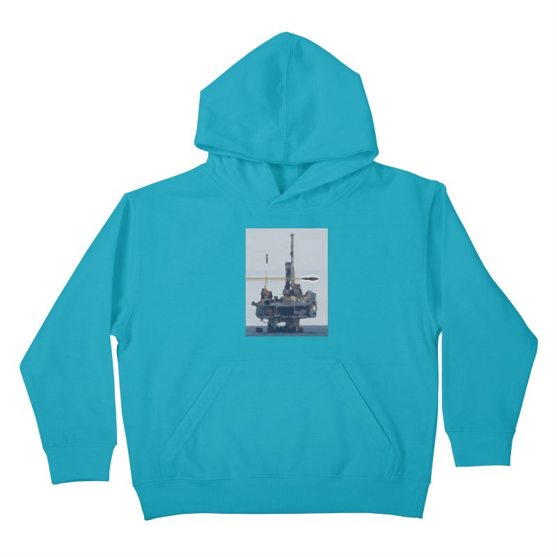 Oily - Art Only Kids Pullover Hoody by Spaceboy Books LLC's Artist Shop