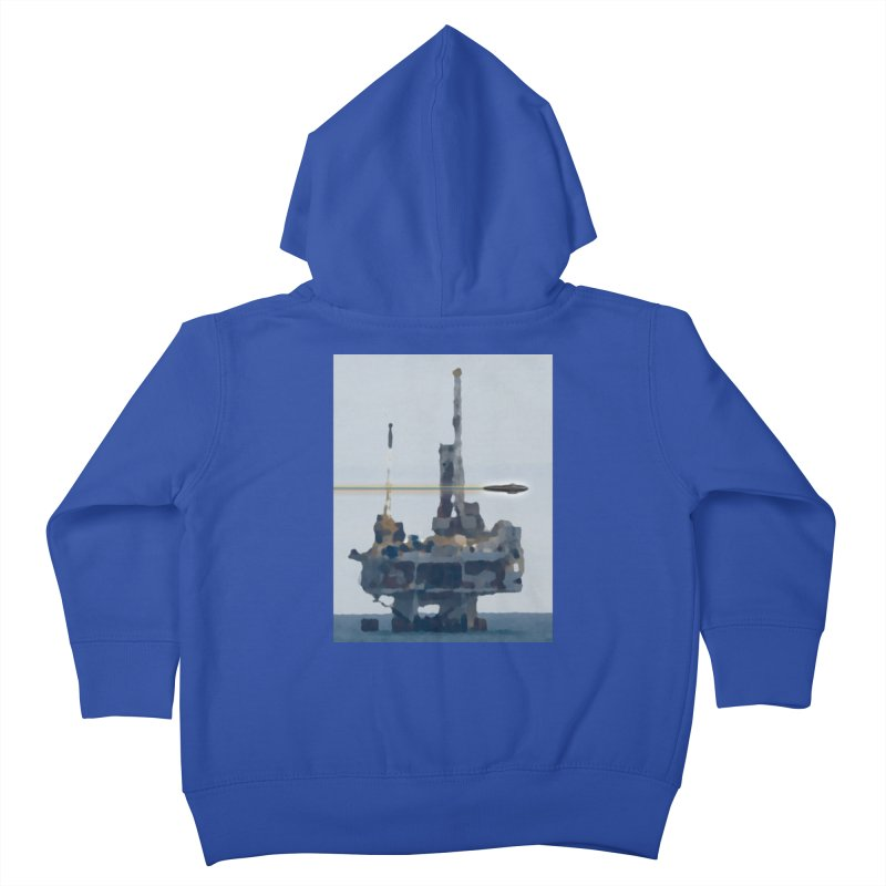 Oily - Art Only Kids Toddler Zip-Up Hoody by Spaceboy Books LLC's Artist Shop