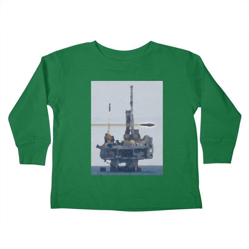 Oily - Art Only Kids Toddler Longsleeve T-Shirt by Spaceboy Books LLC's Artist Shop