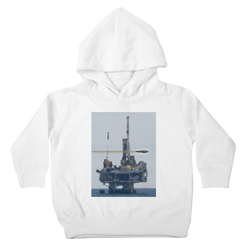 Oily - Art Only Kids Toddler Pullover Hoody by Spaceboy Books LLC's Artist Shop