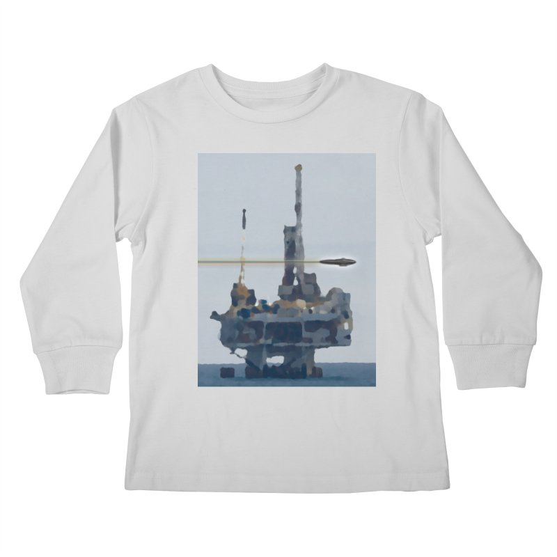 Oily - Art Only Kids Longsleeve T-Shirt by Spaceboy Books LLC's Artist Shop