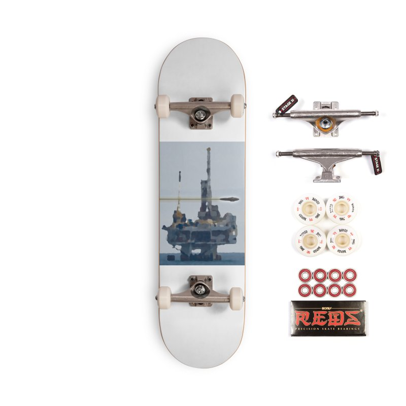 Oily - Art Only Accessories Complete - Pro Skateboard by Spaceboy Books LLC's Artist Shop