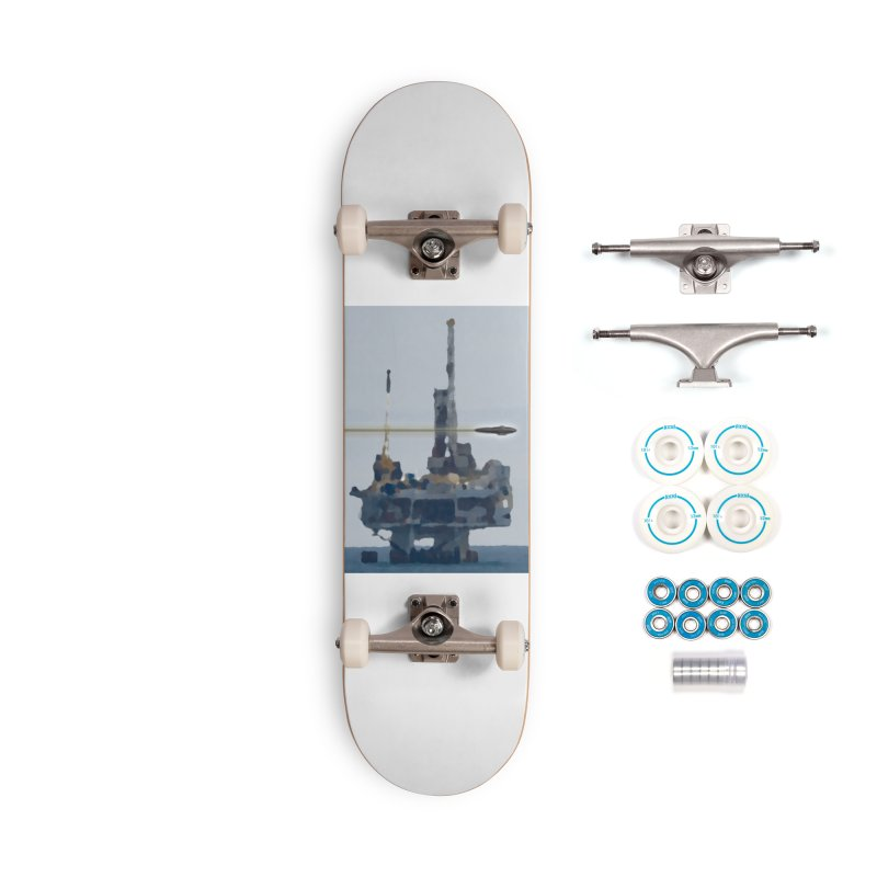 Oily - Art Only Accessories Complete - Basic Skateboard by Spaceboy Books LLC's Artist Shop