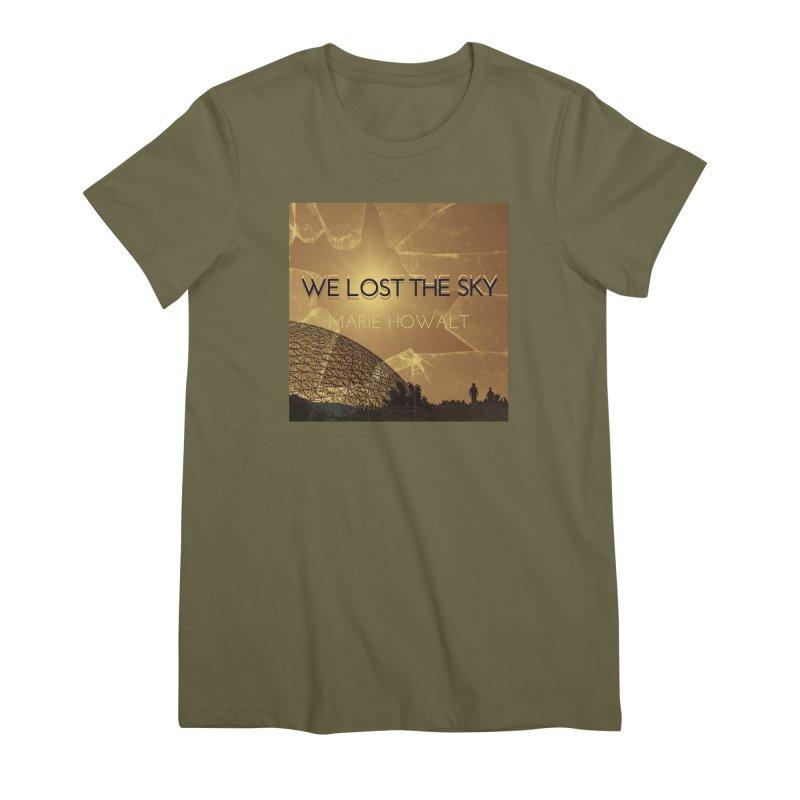 We Lost the Sky (Title) Women's Premium T-Shirt by Spaceboy Books LLC's Artist Shop