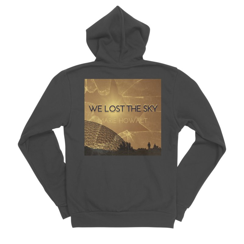 We Lost the Sky (Title) Women's Sponge Fleece Zip-Up Hoody by Spaceboy Books LLC's Artist Shop