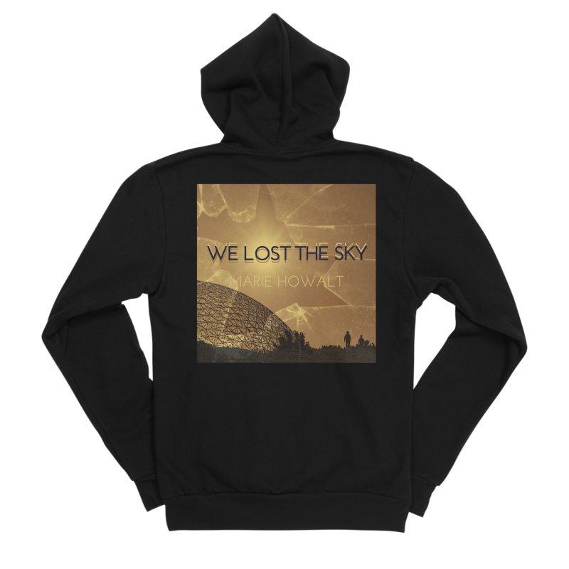 We Lost the Sky (Title) Men's Zip-Up Hoody by Spaceboy Books LLC's Artist Shop