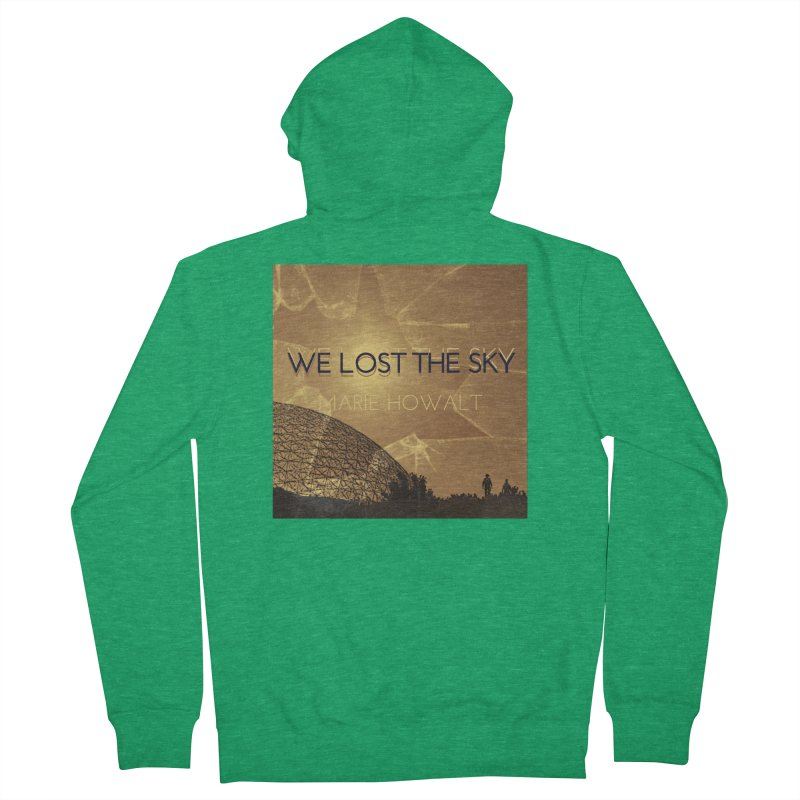 We Lost the Sky (Title) Women's Zip-Up Hoody by Spaceboy Books LLC's Artist Shop