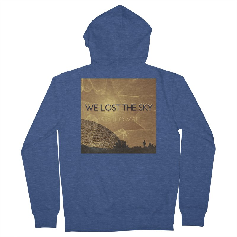 We Lost the Sky (Title) Men's Zip-Up Hoody by Spaceboy Books LLC's Artist Shop