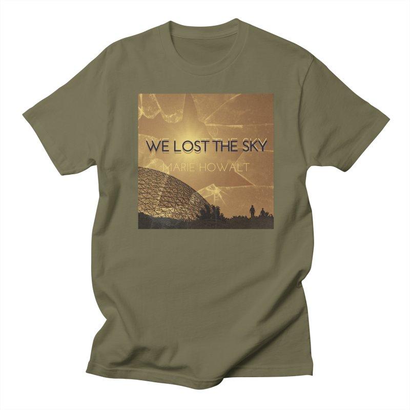 We Lost the Sky (Title) Men's Regular T-Shirt by Spaceboy Books LLC's Artist Shop