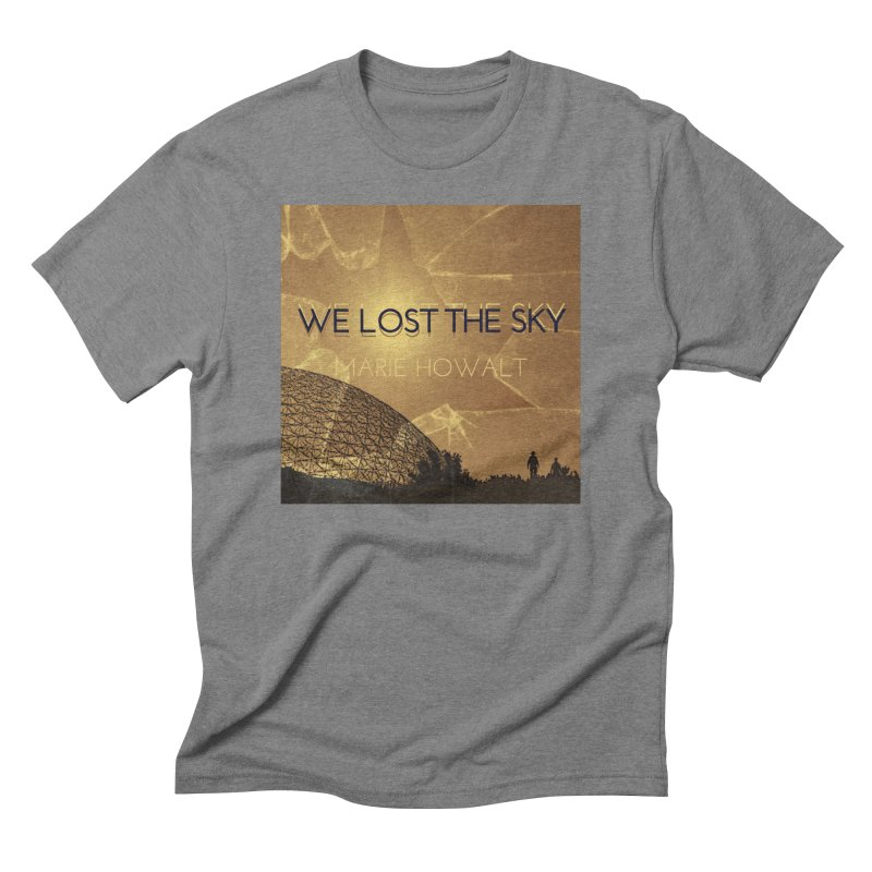 We Lost the Sky (Title) Men's Triblend T-Shirt by Spaceboy Books LLC's Artist Shop